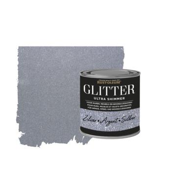 Rust-Oleum glitterverf ultra shimmer silver 250 ml
