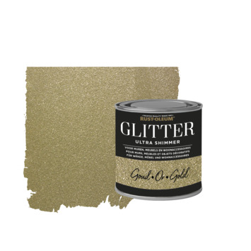 Rust-Oleum glitterverf ultra shimmer gold 250 ml