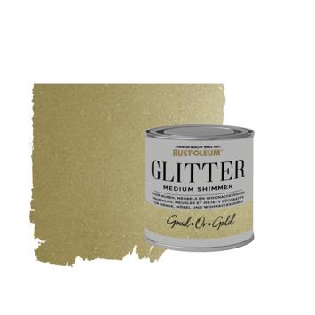 Rust-Oleum glitterverf medium shimmer gold 250 ml