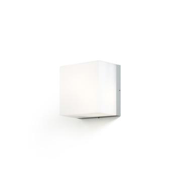 Konstsmide buitenlamp San Remo voor wand en plafond grijs opaal