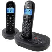 Profoon DECT telefoon PDX-7325 twinset zwart met antwoordapparaat