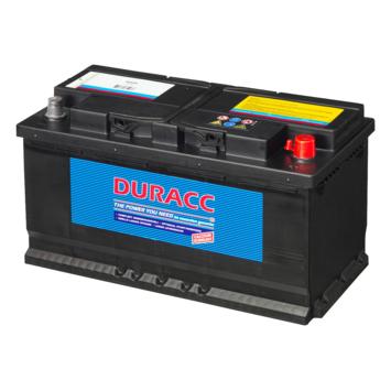 Duracc startaccu 12V 100ah 60038