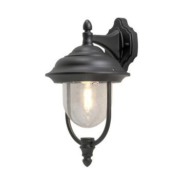Konstsmide buitenlamp Parma 46cm mat zwart