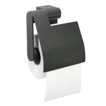 Tiger Nomad toiletrolhouder met klep zwart