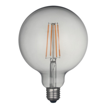 Karwei Led-filament globe 130mm smokey glas
