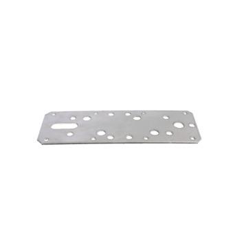 Koppelplaat RVS 180x60x2,5 mm