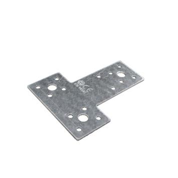 T Plaat Verzinkt 80x68x39 mm