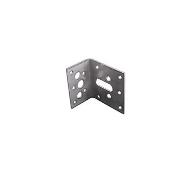 Hoekanker zonder Ril RVS 60x40x60 mm