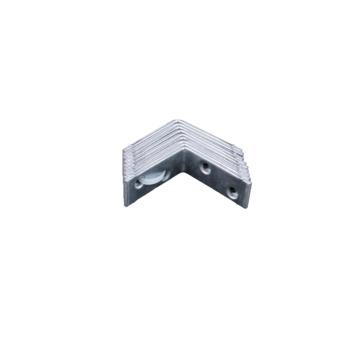 Stoelhoek Verzinkt 40x40 mm - 10 Stuks