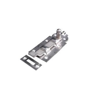 Rolschuif met Bocht RVS 120 mm