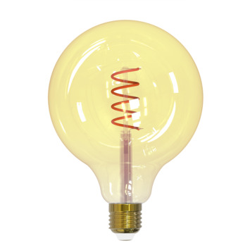 Handson LED 125mm globe E27 4W=15W 135LM gold