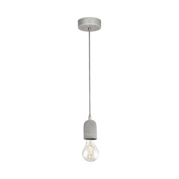 Eglo hanglamp Silvares grijs