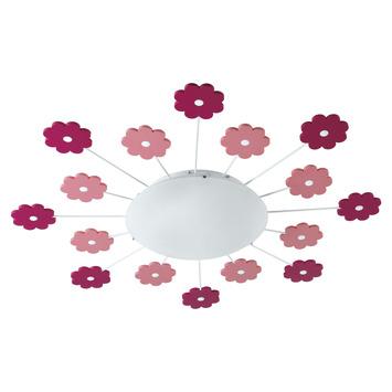 Eglo plafondlamp Viki roze
