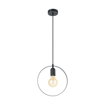 Eglo hanglamp Bedington zwart