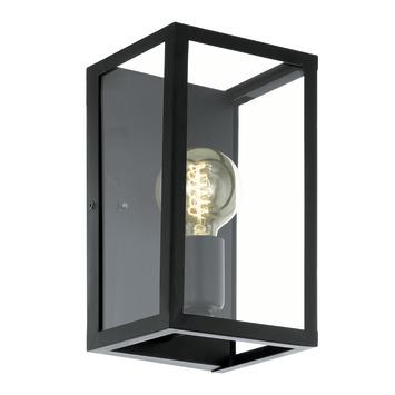 Eglo wandlamp Charterhouse zwart