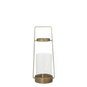 Lantaarn goud 30,5 x 12 cm