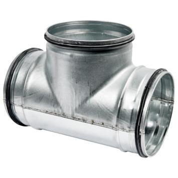 Sanivesk spiraalbuis 90° T-stuk Ø 125 mm