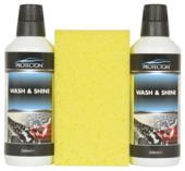 Protection wash & shine set met spons