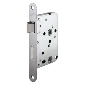 Urfic Insteekslot badkamerslot/wc-slot met RVS voorplaat Doorn 50mm