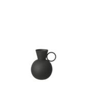 Vaas Zwart 15x12x11 cm