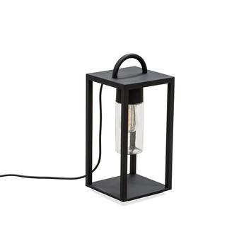 Konstsmide buitenlamp tafellamp Bologna 45,5 cm mat zwart
