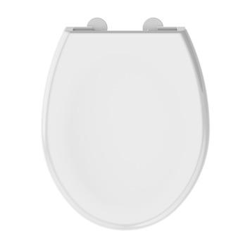 Allibert Lenti WC bril wit kunststof met softclose