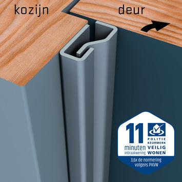 SecuStrip Plus Anti-Inbraakstrip Voordeur  RAL 7012 (Basalt Grijs) 230 cm