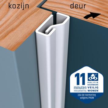 SecuStrip Plus Anti-Inbraakstrip Voordeur  RAL 9010 (Wit) 230 cm