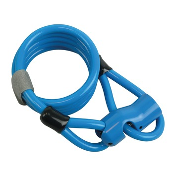 Dyto kabelslot blauw 120 cm