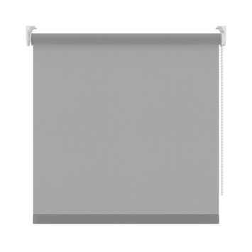 KARWEI rolgordijn lichtdoorlatend structuur grijs (5696) 120 x 190 cm (bxh)