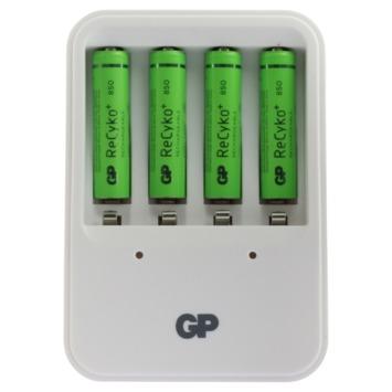 GP batterijoplader ReCyko PB420 inclusief 4 batterijen