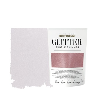 Rust-Oleum glitterzakje subtle shimmer rose pouch