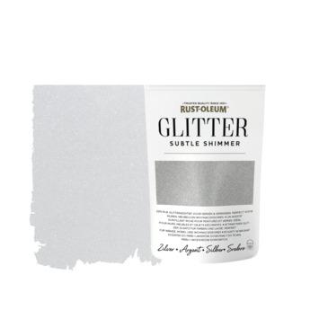 Rust-Oleum glitterzakje subtle shimmer silver pouch
