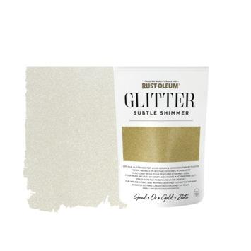 Rust-Oleum glitterzakje subtle shimmer gold pouch