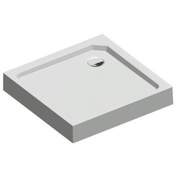 Get Wet Douchebak Fusion Vierkant Opbouw 90x90x14 cm Wit