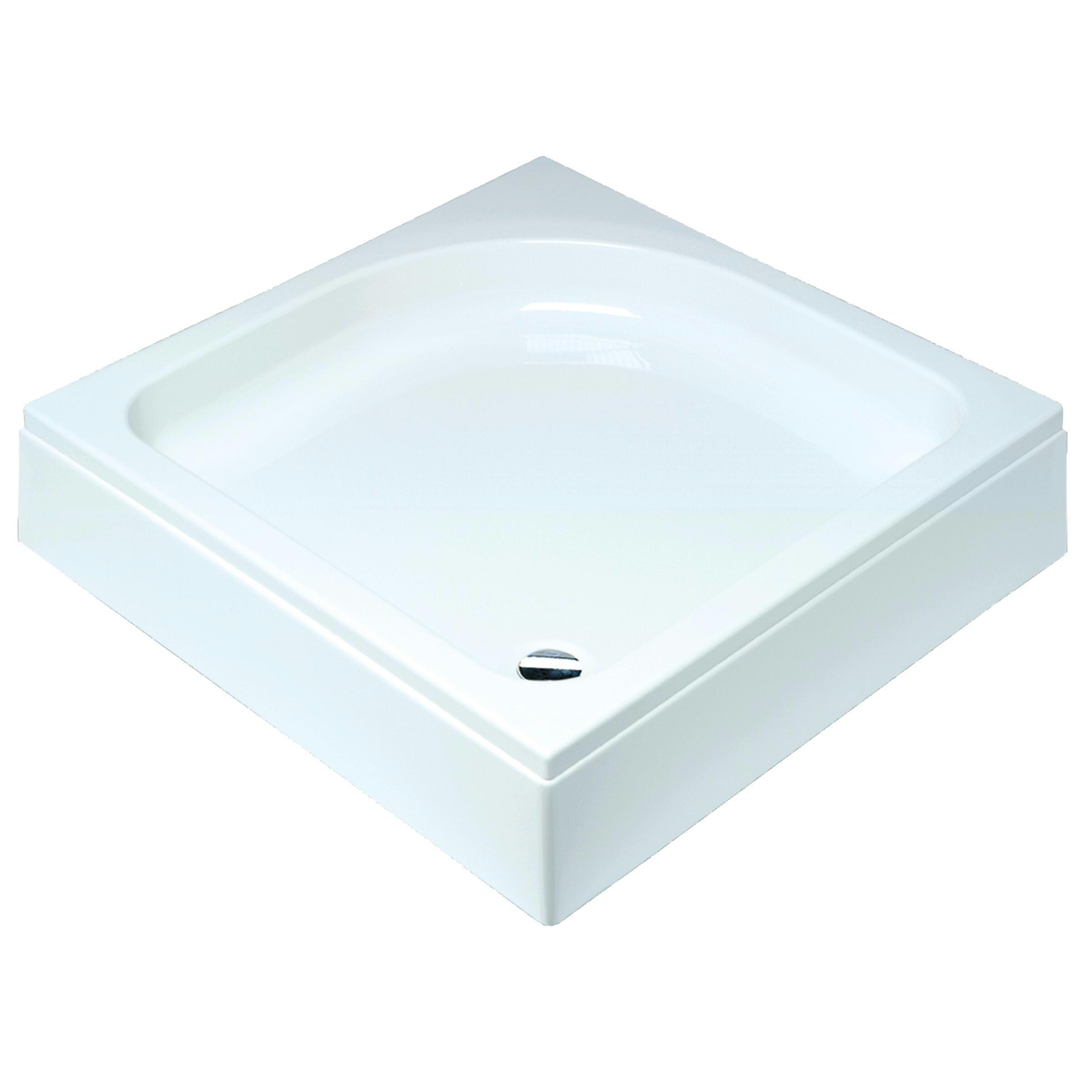 Sealskin Comfort douchebak vierkant 90x90 cm opbouw wit