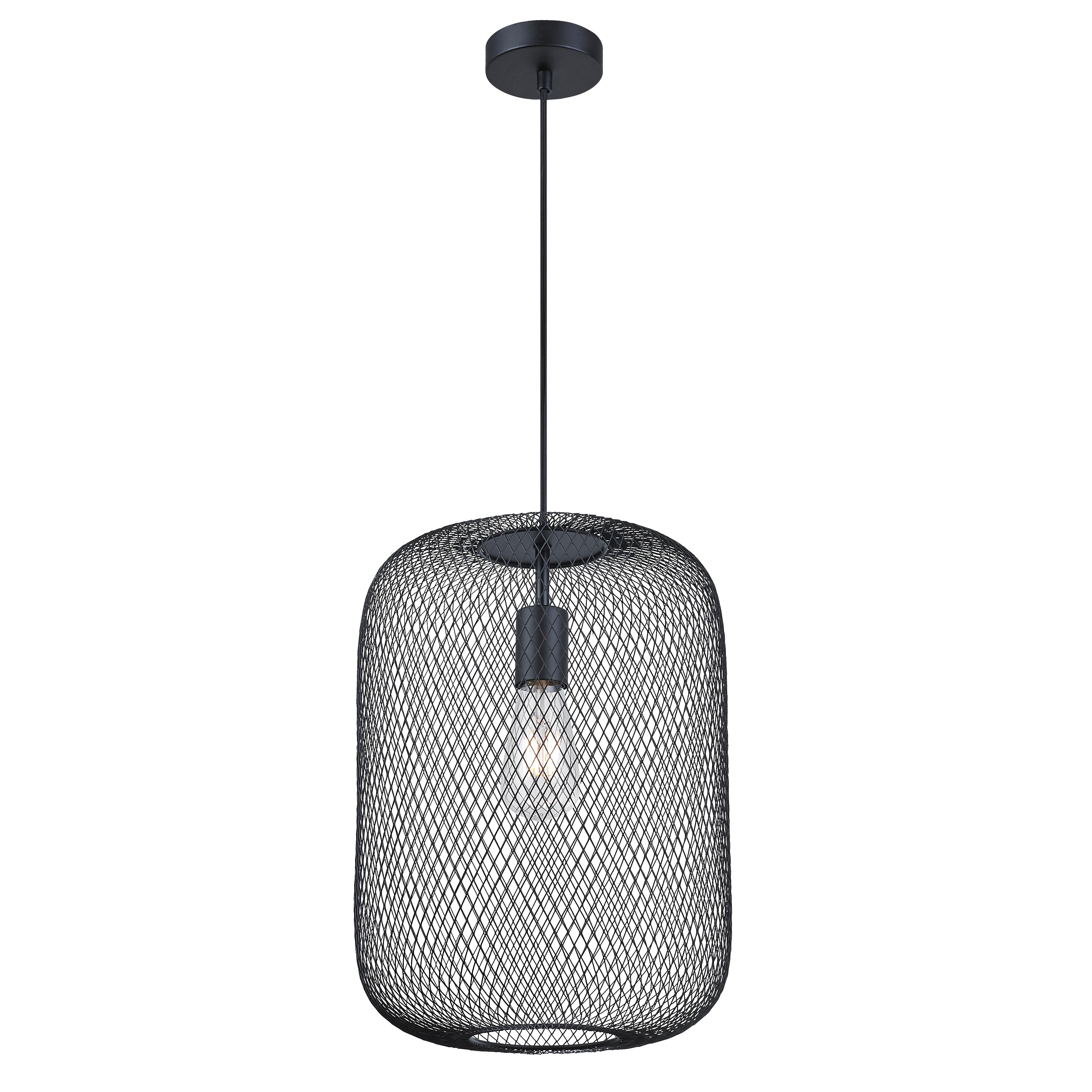 KARWEI hanglamp Juno XXL mesh zwart