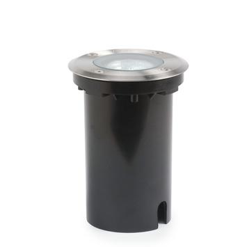 Konstsmide grondspot Round ø11cm RVS