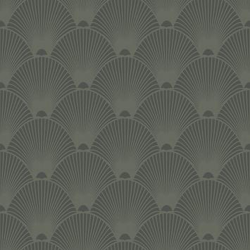 Vliesbehang weona groen (dessin 106995)