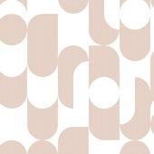 Vliesbehang rock roze - wit (dessin 107004)