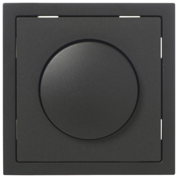 KARWEI Zenith centraalplaat dimmer mat zwart