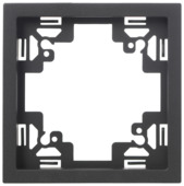 KARWEI Zenith afdekraam 1-voudig mat zwart