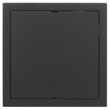 KARWEI Zenith afdekplaat mat zwart