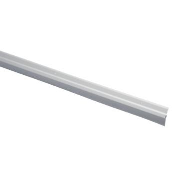 Handson tochtstrip aluminium 93 cm met rubber lip