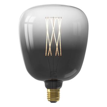 Calex KIRUNA LED globe E27 4W titanium dimbaar