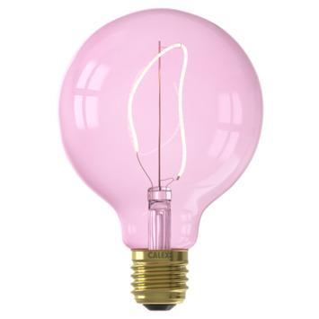 Calex NORA LED Globe G95 E27 4W roze dimbaar