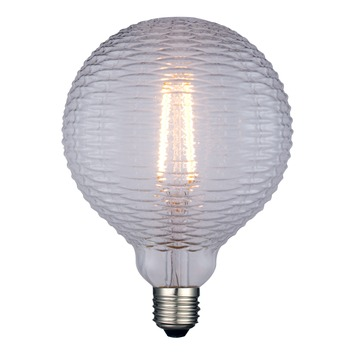 Handson E27 LED filament lamp globe 12,5 cm