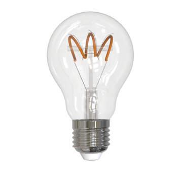 Handson LED peer E27 5W=28W 300LM flame dimbaar