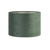 Lampenkap velours groen Ø20x15cm