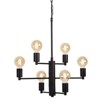 Hanglamp Zia mat zwart
